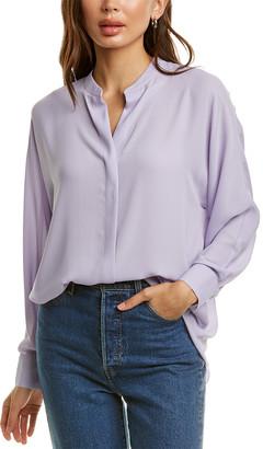 Vince Slit Back Popover Shirt