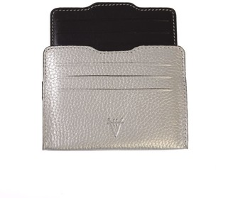 Atelier Hiva Double Card Holder Silver & Black