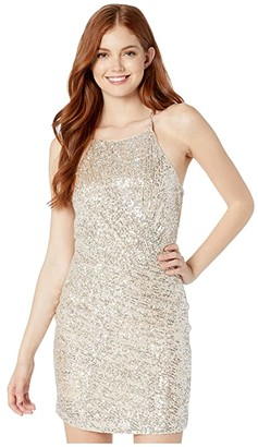 Parker Alina Dress (Champagne) Women's Clothing