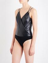 Wolford Estella leatherette body