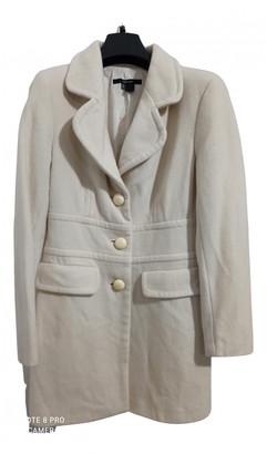 Zara White Wool Coats