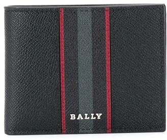 Bally Stripe Billfold Wallet