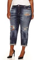 Arizona Skinny Jeans-Juniors Plus