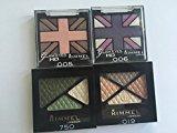 Rimmel Multicolor Pallets of Eye Shadow #019 #750 #005 #006 Bundle 7