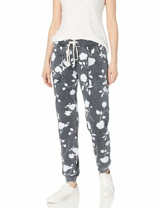 Alternative Women's Long Weekend Printed Burnout French Terry Pants