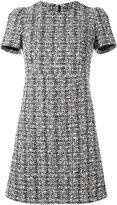 Alexander McQueen tweed dress - women - Cotton/Virgin Wool/Polyamide/Silk - 42