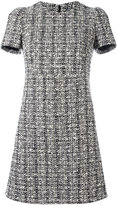 Alexander McQueen tweed dress - women - Silk/Cotton/Polyamide/Virgin Wool - 40