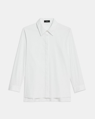 Theory Trapeze Shirt in Good Cotton