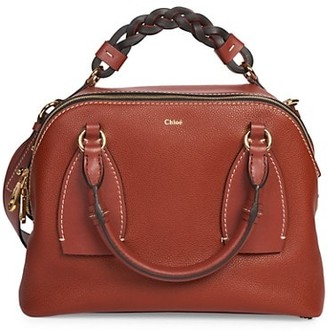Chloé Medium Daria Leather Satchel