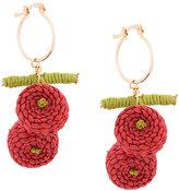Mercedes Salazar Cherry earrings