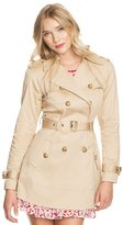 GUESS Inbloom Jessie Trench Coat