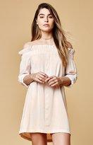 MinkPink Business Off-The-Shoulder Dress