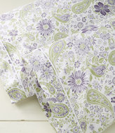 L.L. Bean Wrinkle-Free Pillowcases, Floral Set of Two