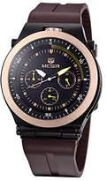 yanlongshop Fashion large dial outdoor men's sport quartz watch