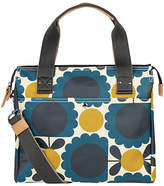 Orla Kiely Scallop Flowers Zip Messenger Bag