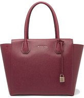 MICHAEL Michael Kors Mercer Large Textured-leather Tote - one size