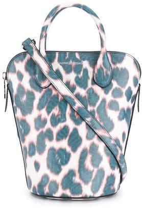 Calvin Klein leopard print tote