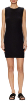 James Perse Cotton Ribbed Sheath Dress