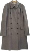 Christian Dior Grey Cashmere Coats