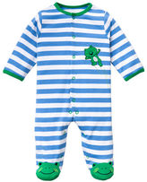 Little Me Newborn Boys 0-9 Months Leapfrog Footie