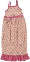 Kickee Pants Print Maxi Dress (Toddler/Kid)-Island Stripe-8