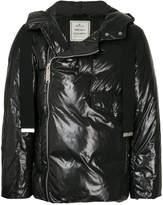 Miharayasuhiro zipped hooded jacket
