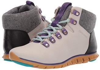 Cole Haan Zerogrand Hiker Waterproof (Dove/Spruce Yellow) Women's Boots