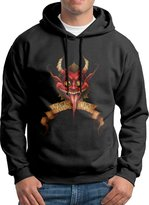ES E~.~!S Greetings From Krampus Men's Cool Hooded Sweatshirt M