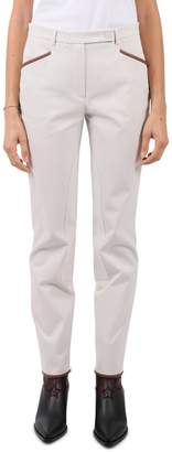 Loro Piana White Rckey Trousers