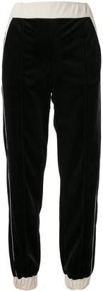 Emporio Armani contrast track trousers