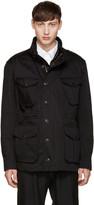 Burberry Black Smithers Coat