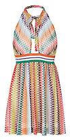 Missoni Mare Knit Crochet Detail Halter Dress