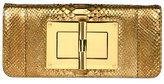 Tom Ford Natalia Long Cosmo Python Clutch Bag