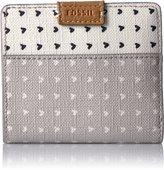 Fossil Women's Mini Emma Rfid Leather Wallet
