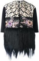 Antonio Marras fur hem jacket - women - Goat Fur/Polyamide/Polyester/Virgin Wool - 42