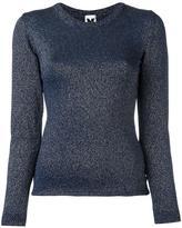 M Missoni fine knit top - women - Polyamide/Spandex/Elastane/Metallic Fibre - 42