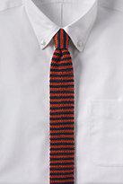 Classic Men's Silk Knit Stripe Necktie-Bright Apple Green Shadow Dot
