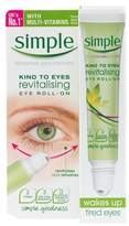 Simple Kind To Eyes Revitalising Eye Roll-On 15ml