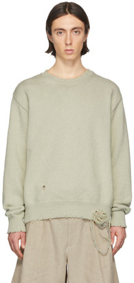 Maison Margiela Green Gauge 5 Sweater