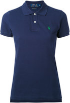 Polo Ralph Lauren embroidered logo polo shirt - women - Cotton - M