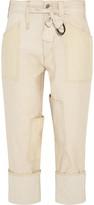 Isabel Marant Vega stretch-canvas tapered pants