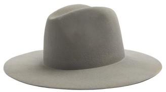 Reinhard Plank Hats - Norma Wool-felt Fedora Hat - Grey