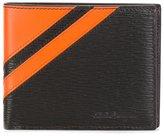 Salvatore Ferragamo thick stripe wallet - men - Calf Leather - One Size