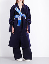 Jacquemus Le Manteau oversized velvet coat