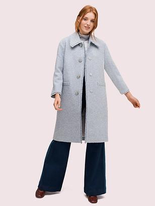 Kate Spade Tinsel Tweed Coat
