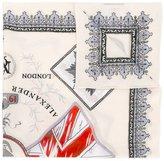 Alexander McQueen skull crest scarf - men - Cotton - One Size