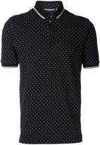 Dolce & Gabbana polka dot polo shirt - men - Cotton - 46