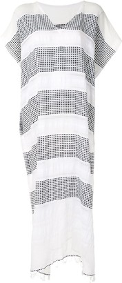 Lemlem Selamawit striped cotton cover-up