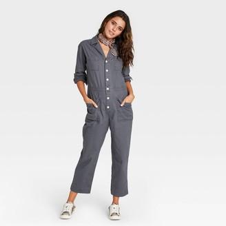 Universal Thread Women's Long Sleeve Collared Boilersuit - Universal Thread͐