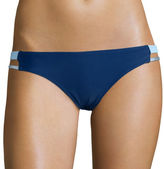 Arizona Foiled Strappy Hipster Swim Bottoms - Juniors
